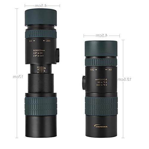 Aurosports Zoom Waterproof Pocket Telescope Focus Lens Adults Kids Hiking, Camping, Birding, Concert