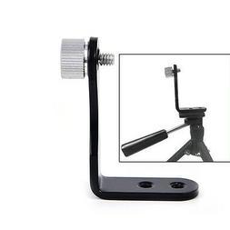 L-shape binocular adapter mount tripod bracket adapter for b