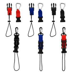 Lanyard Retainer Clip Webbing Loop Holder for Scuba Diving C