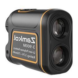 Laser Rangefinder,Zamkol 1000 yards Golf Rangefinder,IP54 La