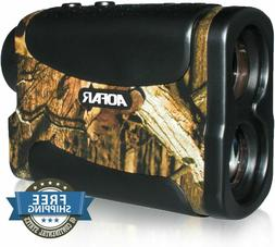AOFAR 700 Yards 6X 25mm Laser Rangefinder for Hunting Golf,