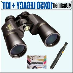Bushnell 12-0150 10X50 Legacy WP Wide Angle Binoculars + Acc