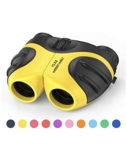 LET'S GO! Binocular for Kids, Compact High Resolution Shockp
