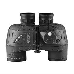 Low Light Vison Binoculars 10x50 Military Marine Tactical w/