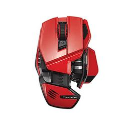 Mad Catz M.O.U.S. 9 Wireless Mouse for PC, Mac, and Mobile D