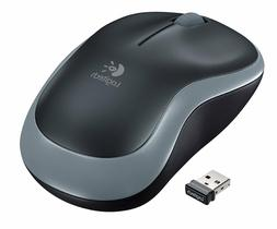 Logitech M185 Mouse - Optical - Wireless - Radio Frequency -