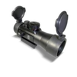Dagger Defense 2X Magnified Red Dot Reflex Sight Optic Scope