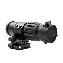 Twod 3X Magnifier Scope with Tactical Flip-to-side QD 20mm P