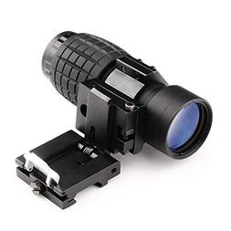 Magnifying Scope 3X30mm Focus Adjustable with Flip up Mount
