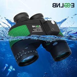 ESSLNB Marine Binoculars with Night Vision Compass Rangefind