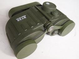 Military marine / nautic binoculars 8x30 with illuminated co