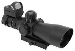 NcStar Mark III Tactical P4 Sniper 3-9X42/Scope Adaptor Moun