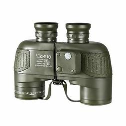 QUNSE Military HD Binoculars for Bird Watching, with Compass