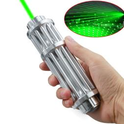 Military Green Laser Pointer Pen 1mW 532nm 20Miles High Powe