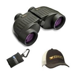 Steiner Military-Marine 10x50 Binoculars with Cap and Microf
