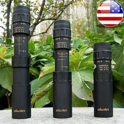 Mini 10-30x25 High Power Zoom Optical Monocular Telescopes O