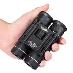 G4Free 12x26 Mini Binoculars HD BAK4 Clear Optical Lens,Ultr