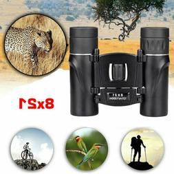 MINI Day Night Vision Binoculars 8x21 Zoom Outdoor Travel Fo