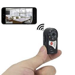 TANGMI Mini P2P HD Wifi Spy Camera Portable WiFi IP Camera H