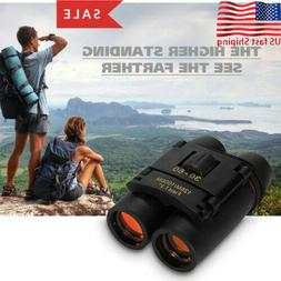 Mini Portable Day/Night 30x60 Zoom Military Binoculars Optic