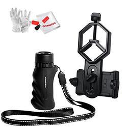 Eyeskey Mini Portable 8x25 Waterproof Monocular Bak-4 Prism