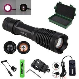 MODEL 710 940NM LED Infrared Torch – Outdoor IR Flashlight