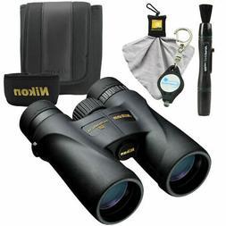 Nikon Monarch 5 10x42 Binoculars  Waterproof/Fogproof Bundle
