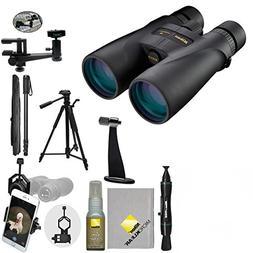 Nikon Monarch 5 20x56 ED Waterproof / Fogproof Binoculars wi