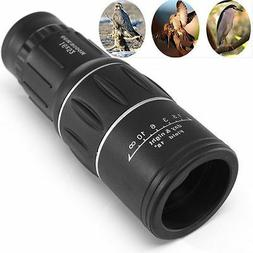 Monocular 16 x 52 Zoom Lens Camping Hiking Hunting Telescope