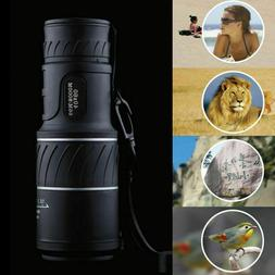 Monocular 40x60 Optics Zoom Lens Camping Hiking Hunting Tele