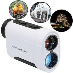 QST Monocular Binoculars 6X600m Hunting Laser Rangefinder,