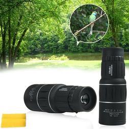 Monocular Dual Focus Telescope Zoom 16x52 Optics Lens Day Vi