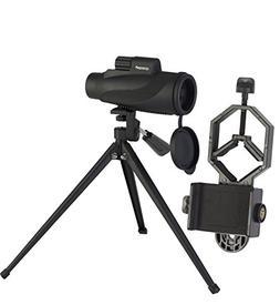 Monocular Spotting Scope Kit   Compact, Non-Slip & Waterproo