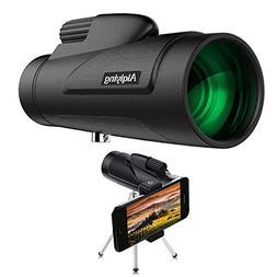 Monocular Telescope, 12x50 HD Dual Focus Low Night Vision Wa
