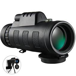 Monocular Telescope High Power 40x60 Monoculars Spotting Sco