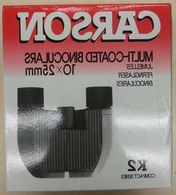 CARSON MULTI-COATED BINOCULARS 10X25mm