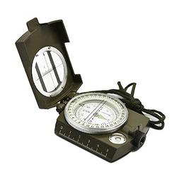 Ueasy Military Compass, Prismatic Sighting Compass - Magneti