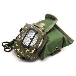 Eyeskey Waterproof Multifunctional Military Lensatic Compass