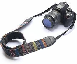 Alled XN01-0941 Camera Neck Shoulder Belt Strap, Vintage