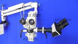 NeuroSurgical Microscope 5 Step Magnification With Binocular