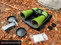 Perrini New 10X-120X90 Zoom Binoculars High Definition Green