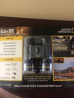 NEW National Geographic 10X40 High Performance Binoculars Hu