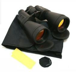 Perrini New 20x70 Zoom Binoculars Ruby Caoted Sharp View Qui