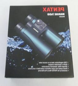 New Pentax 7x50 Marine Binocular Compass Ranging Reticle Wat