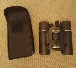 New Binoculars Uscamel Folding Pocket Compact Travel Mini Te