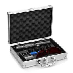 NEW Blue Visible Beam High Power Laser Pointer 2000mw W/ 2x