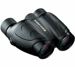 NEW Nikon Compact Travelite 8x25mm Porro Prism Black Binocul