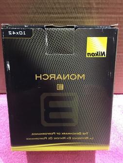 NEW!! Nikon Monarch 3 10x42mm Water/Fog Proof Black Binocula