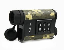 Night Vision Range Finder 6 x 32 Multifunction Infrared Hunt