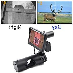 Digital Night Vision Scope for Rifle Hunting with Camera and